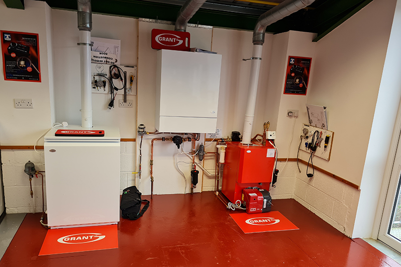 Grant supplies new oil boilers to SWAAT Training Centre
