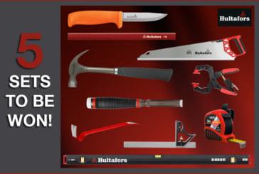 GIVEAWAY: Hultafors Tools hand tool set