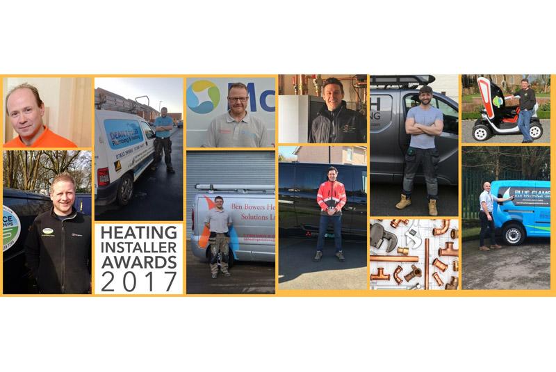 Regional Heating Installer Awards winners announced