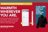 Heatrae Sadia extends free jacket promotion