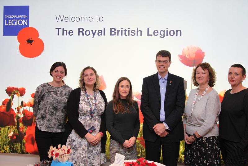 HomeServe fundraises for The Royal British Legion