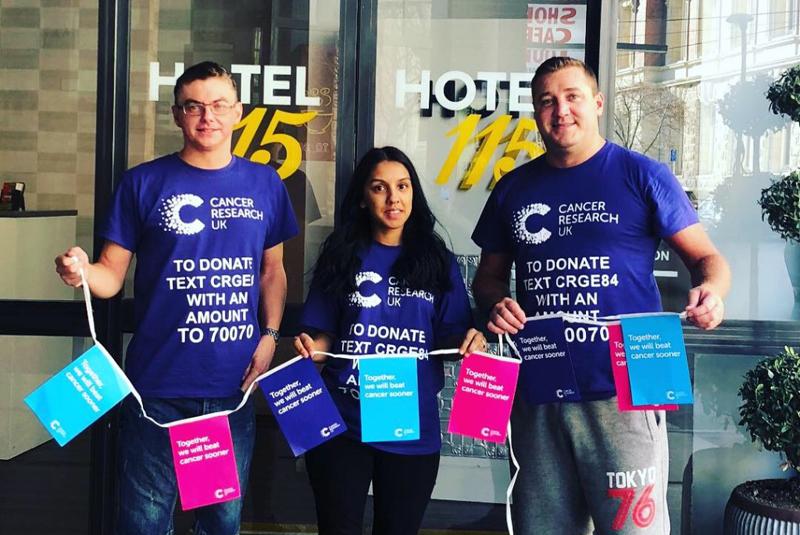 HomeServe raises over £15,000 for several charities