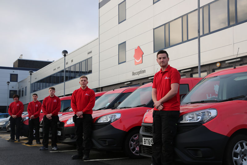 Apprentices join HomeServe ranks