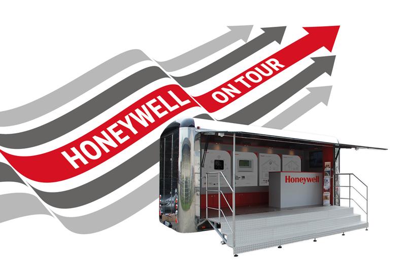 Honeywell hits the road