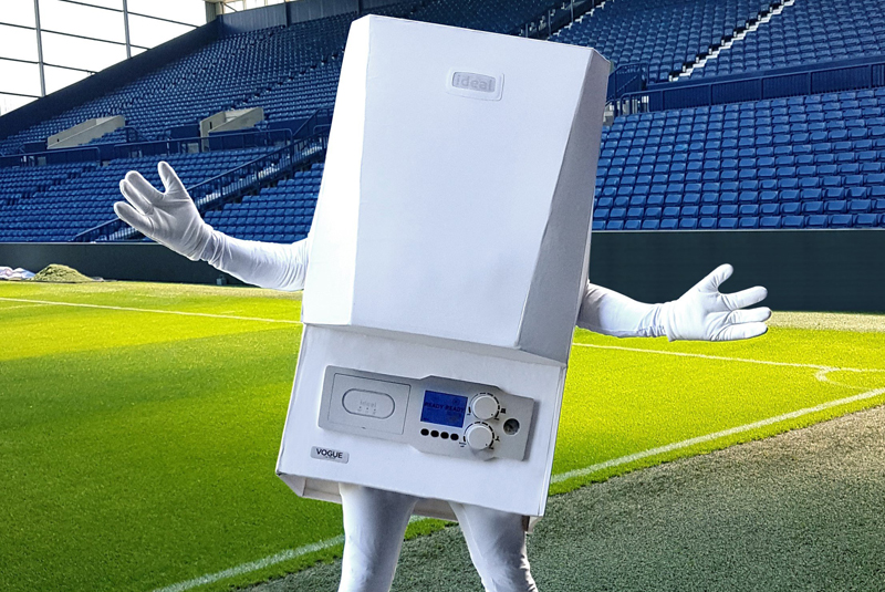 Boiler Man receives warm welcome