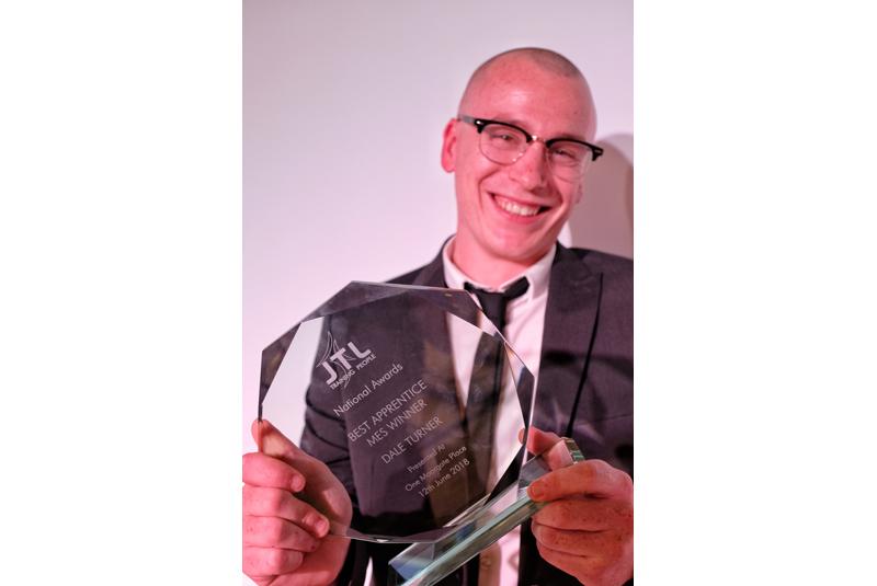 JTL announces Heating & Plumbing Apprentice of the Year winner