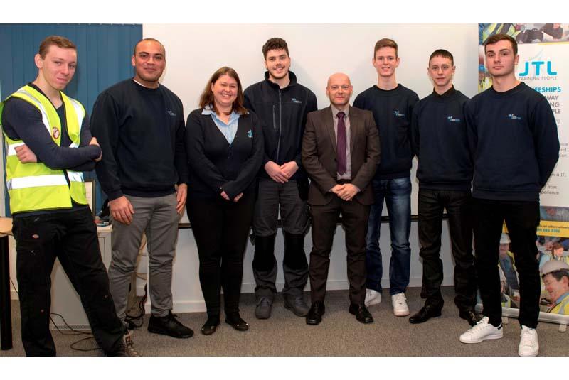 JTL Traineeship programme applauded by Interserve