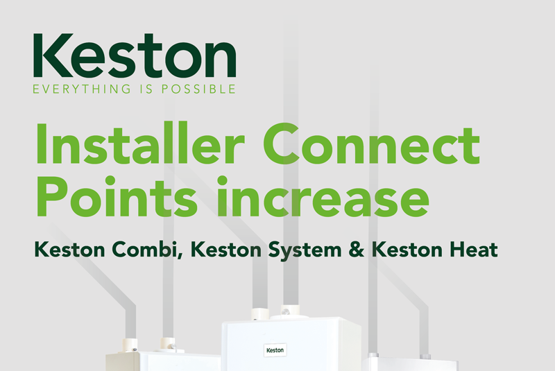 Keston Boilers boosts benefits for installers