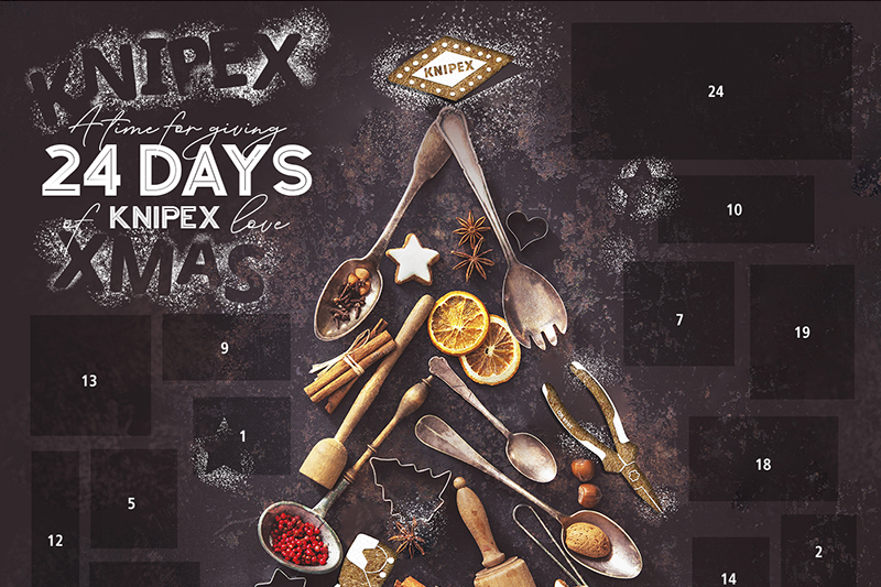 WIN! The KNIPEX Advent Calendar is back