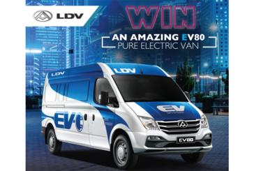 Win an LDV electric van worth over £60,000!