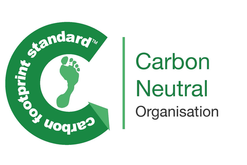 Lakes certified as a Carbon Neutral Company