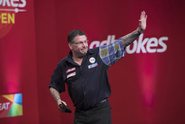 McAlpine teams up with the darts superstar Gary Anderson