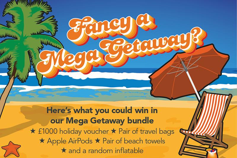 Megaflo Rewards launches Mega-getaway kit