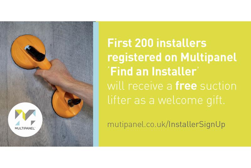 Multipanel launches Find an Installer Scheme