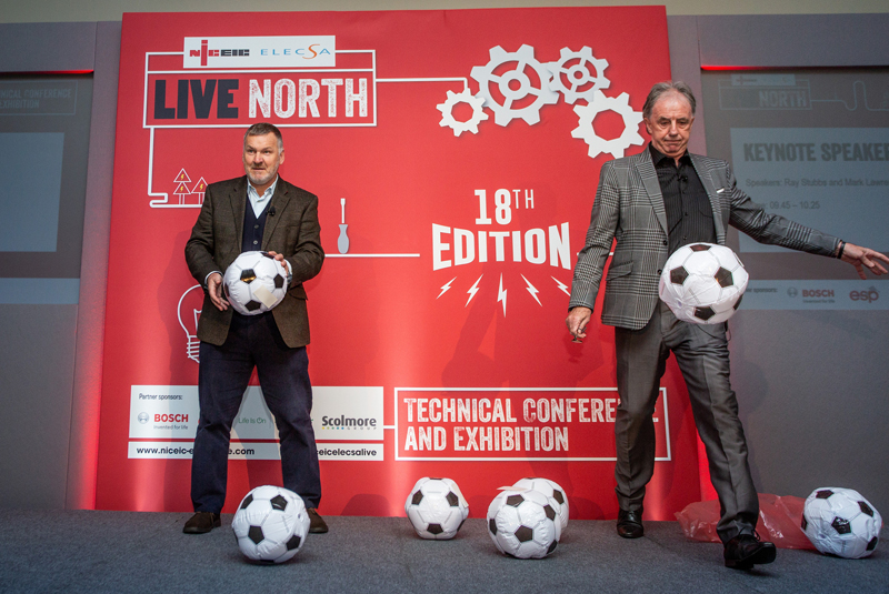 NICEIC and ELECSA celebrate Live North success