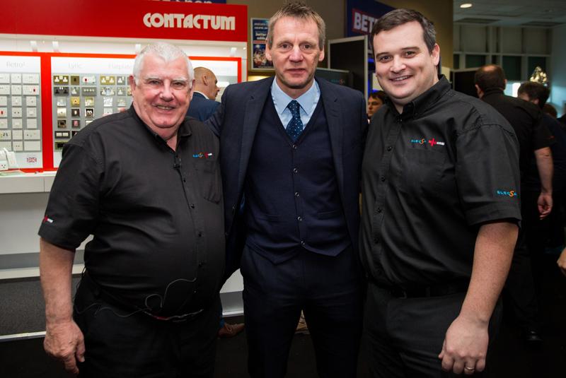 Stuart Pearce draws crowds to Live North