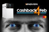 £100 cashback on every Navien oil boiler installed in February