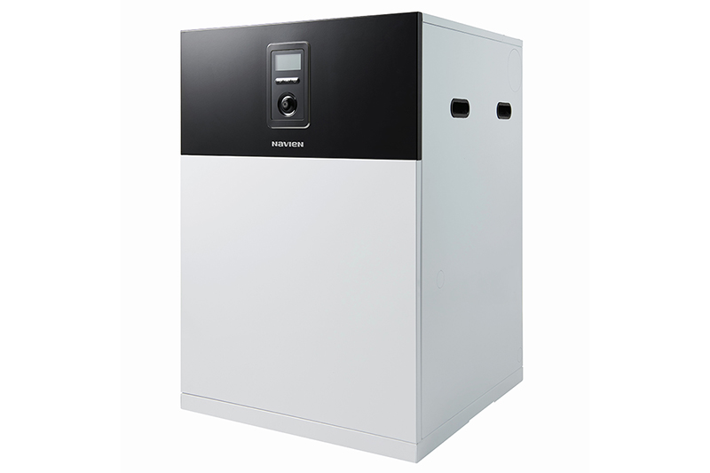 """Navien's blue flame technology is """"the future of oil heating"""""""