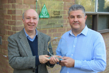 OFTEC scoops industry award
