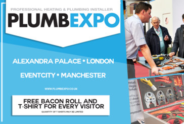 Registration is open for PLUMBEXPO 2020 in London!