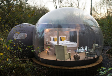 Panasonic helps create bubble dome experience