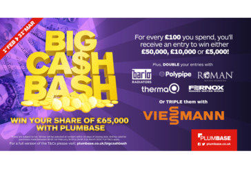 £65K of prizes up for grabs with the Big Cash Bash