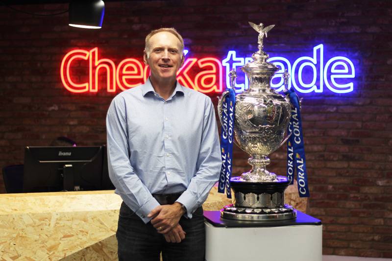 Checkatrade becomes Coral Challenge Cup's new official partner