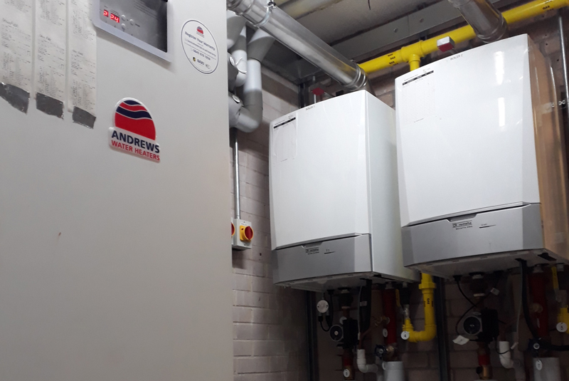 Remeha boilers installed at Aberystwyth University
