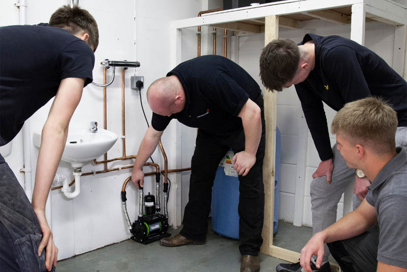 Salamander Pumps tackles skills shortage