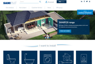 Saniflo launches updated website