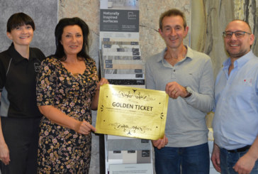 Showerwall reveals winner of Golden Ticket initiative