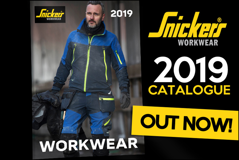 Snickers Workwear 2019 catalogue