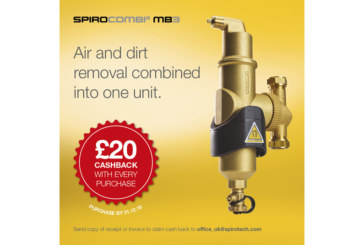 Spirotech launches cashback promotion