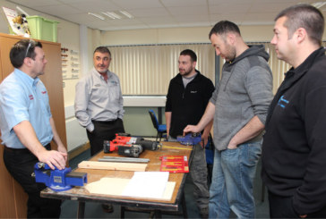 Starrett hosts demonstration day at Welsh college