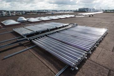 Stokvis Solar at Birmingham International