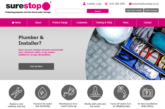 New website for Surestop