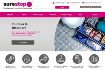 New website for Surestop
