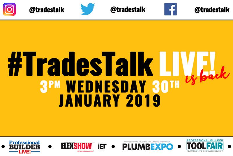 #TradesTalk Live returns!