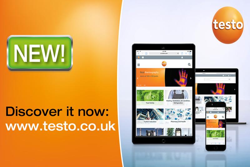 Testo UK launches new website