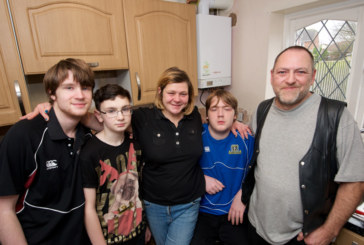Bristol family in need receives free boiler from Viessmann