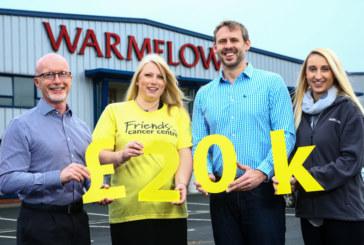 Warmflow formalises local charity partnership