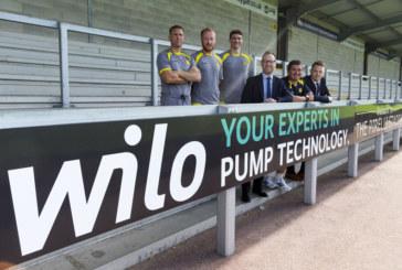 Wilo continues sponsorship for Burton Albion FC
