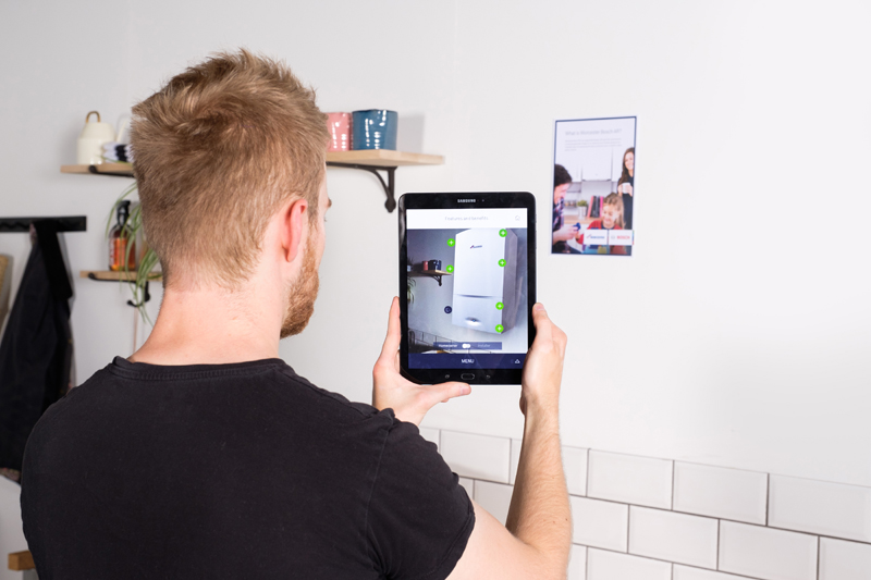 Worcester Bosch launches AR app