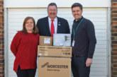 Worcester Bosch donates boiler to BIRT