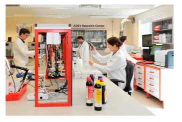 Industry first for ADEY's UKAS lab
