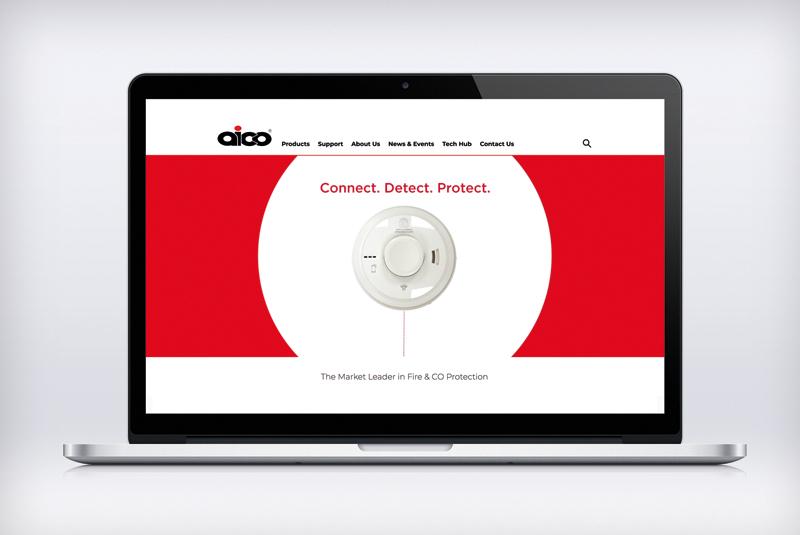 Aico reveals updated website