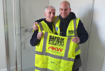 AKW helps Band of Builders change another tradesperson's life