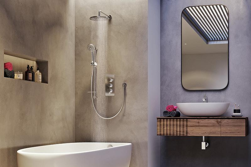 Aqualisa | Dream thermostatic mixer showers
