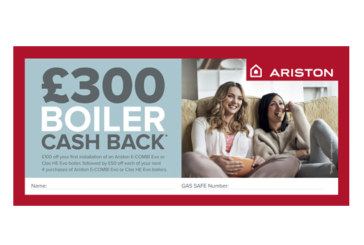 Ariston extends training cashback offering