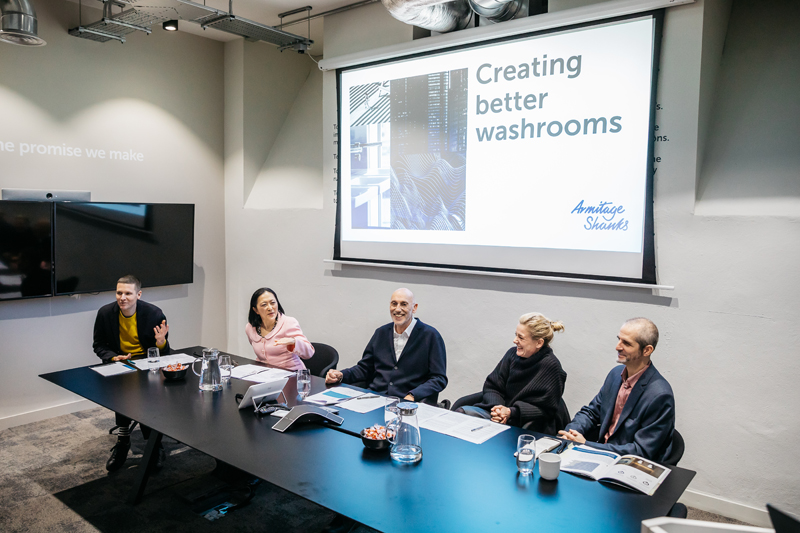 Armitage Shanks releases whitepaper revealing impact of washroom design on wellbeing